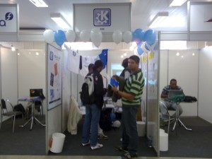 The KDE Latinoware Booth