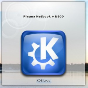 Original Plasmoid on Desktop