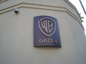 The gate where the show was recorded